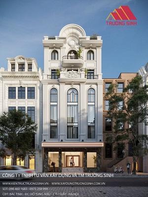 Thiết kế hoàn thiện biệt thự liền kề, chung cư